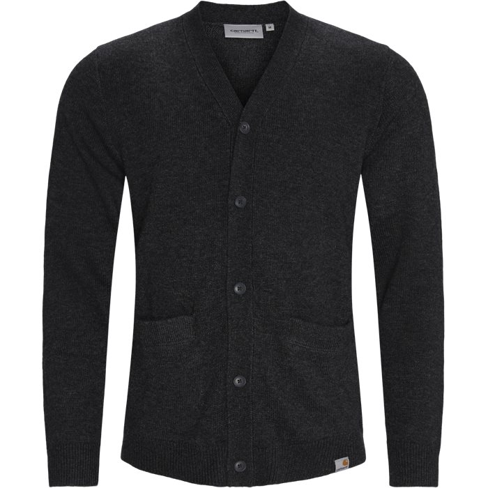 Allen Cardigan - Strik - Regular - Sort